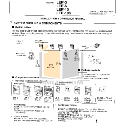 Aiphone Lef 3 Wiring Diagram 90 Honda Accord Bg 10c Great Installation Of Download Free Pdf For 10s Intercoms Other Manual Intercom