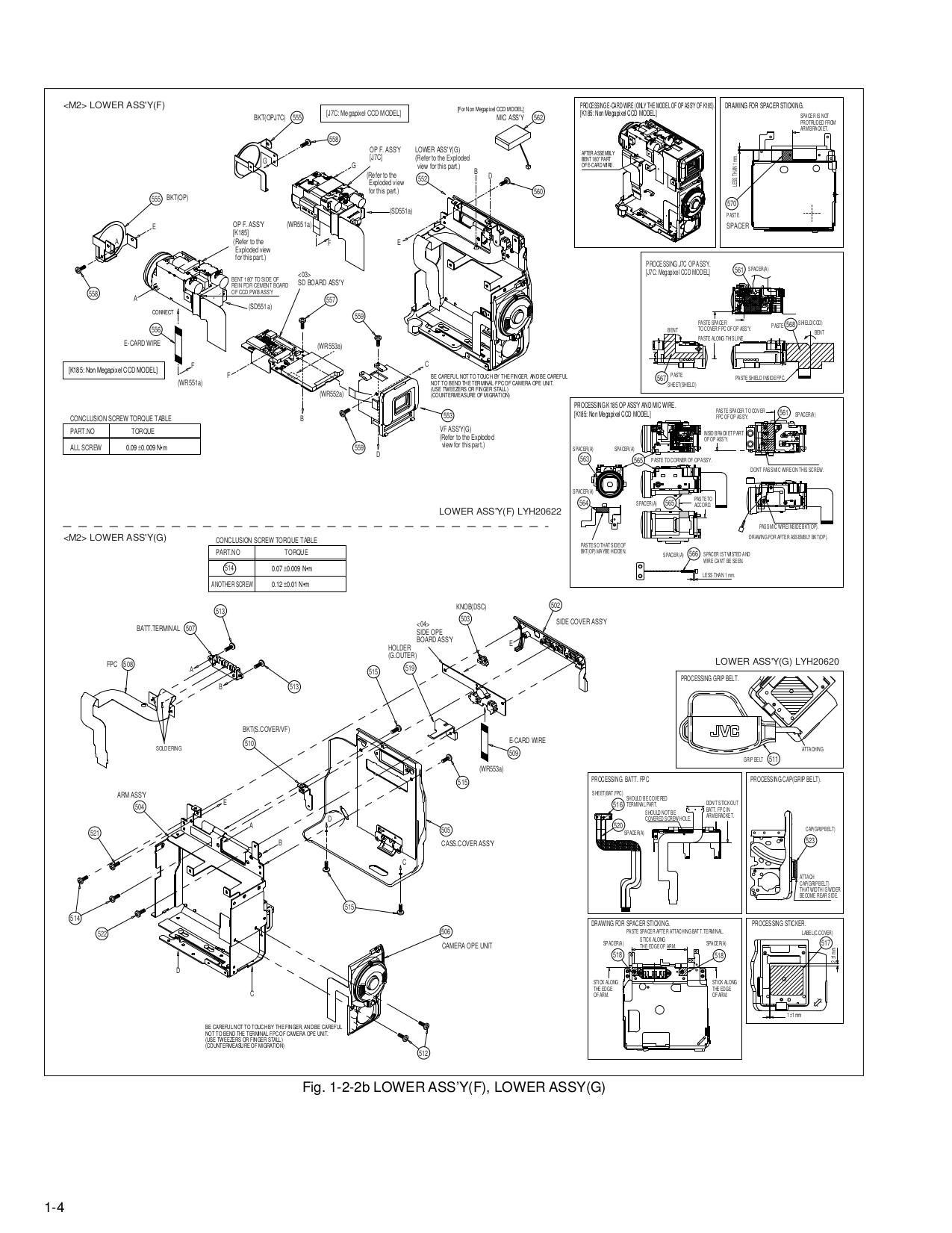 PDF manual for JVC Camcorders GR-DX100EX