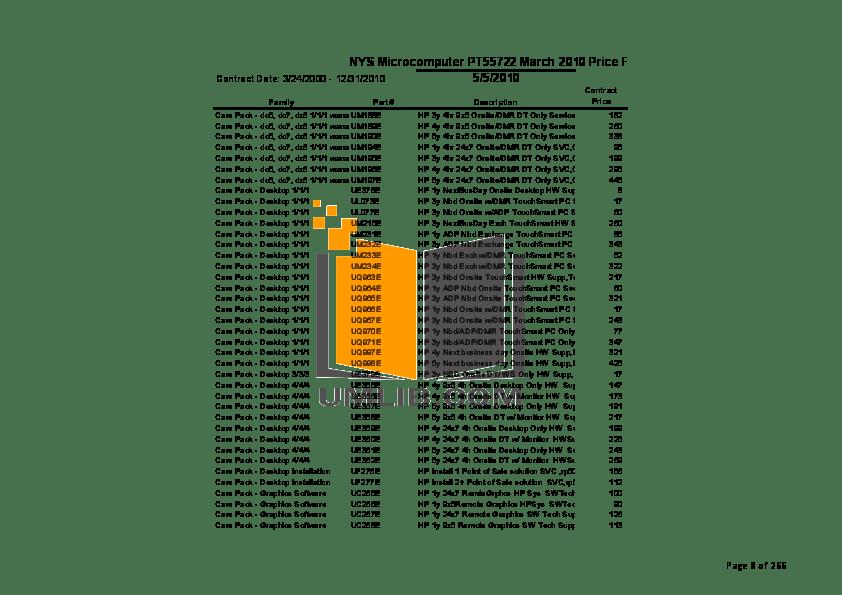 PDF manual for HP Desktop Pavilion a749