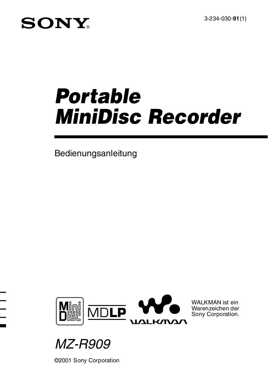 Download free pdf for Sony Walkman D-EJ725 CD Player manual