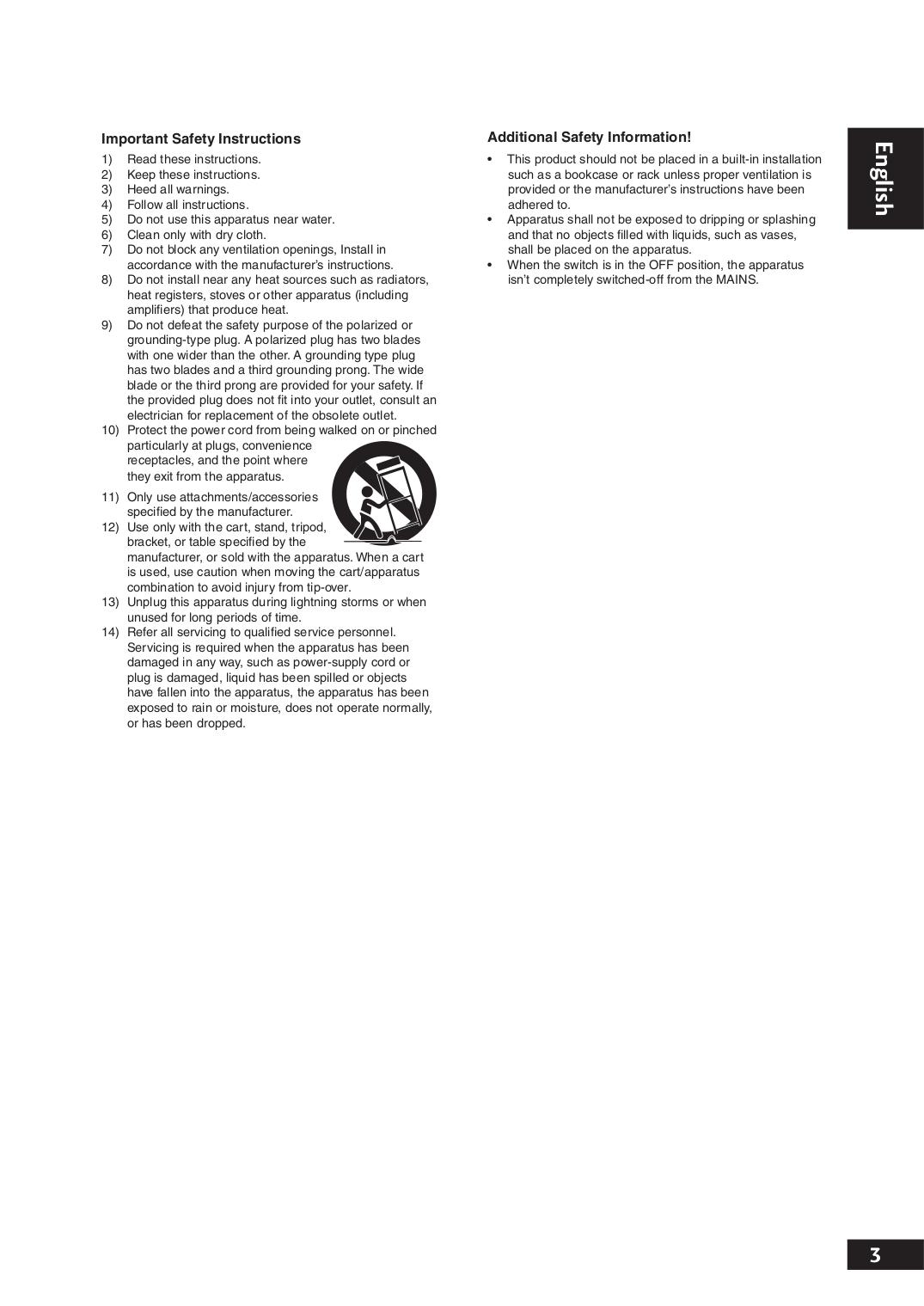 PDF manual for Marantz DVD Players DV7001