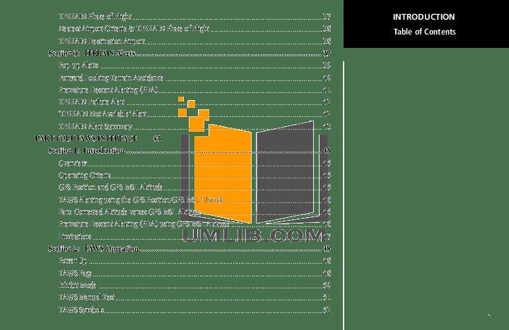 PDF manual for Garmin GPS GNS 430