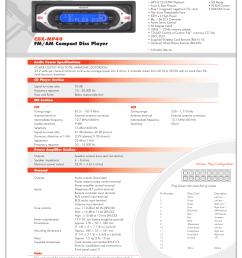 download free pdf for sony cdx mp40 car receiver manual rh umlib com sony xplod wiring diagram sony cdx mp40 wiring diagram [ 1275 x 1651 Pixel ]