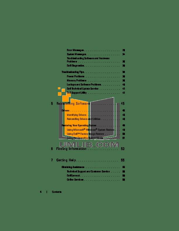 PDF manual for Dell Laptop Latitude E5500