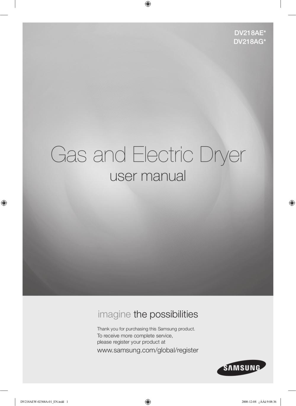 medium resolution of pdf for samsung dryer dv218ae manual