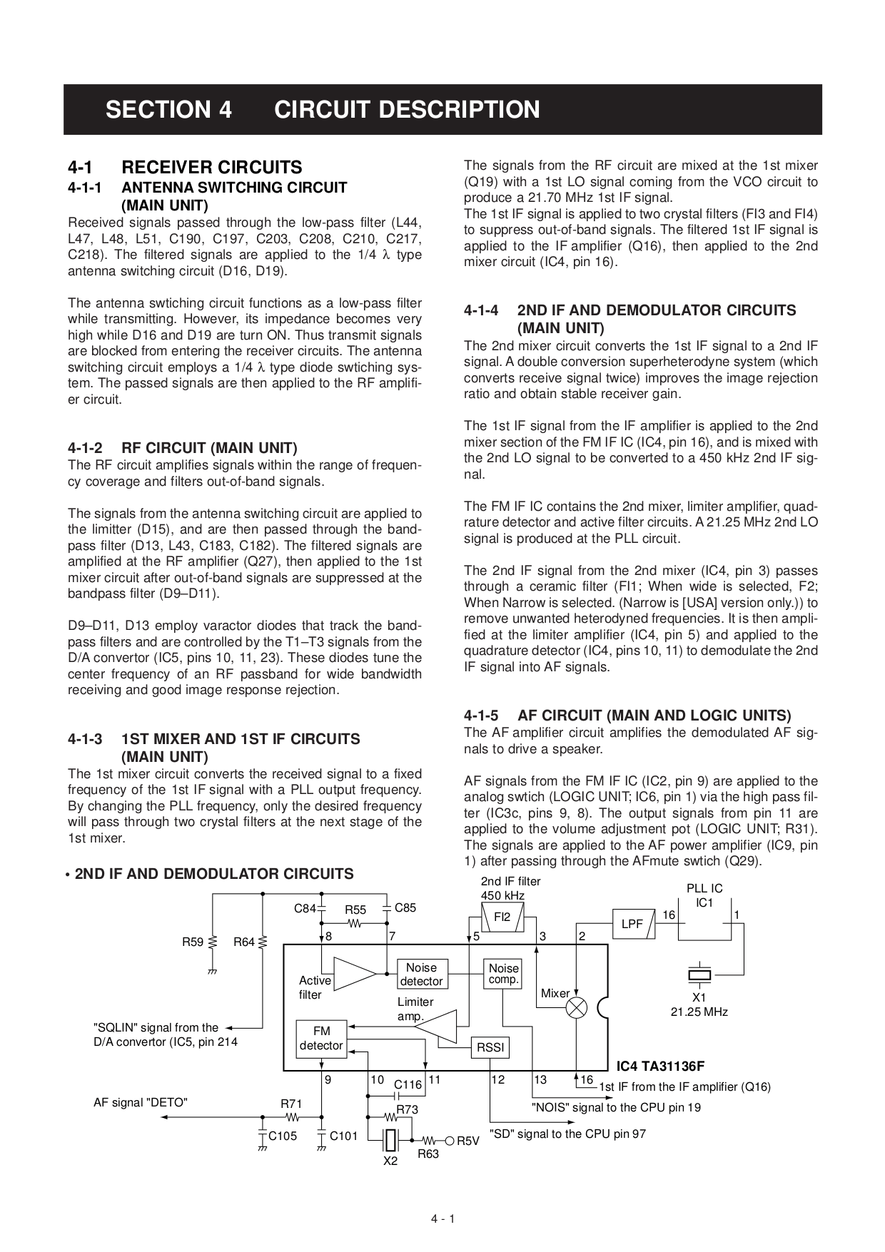 PDF manual for Yamaha Receiver RX-V800