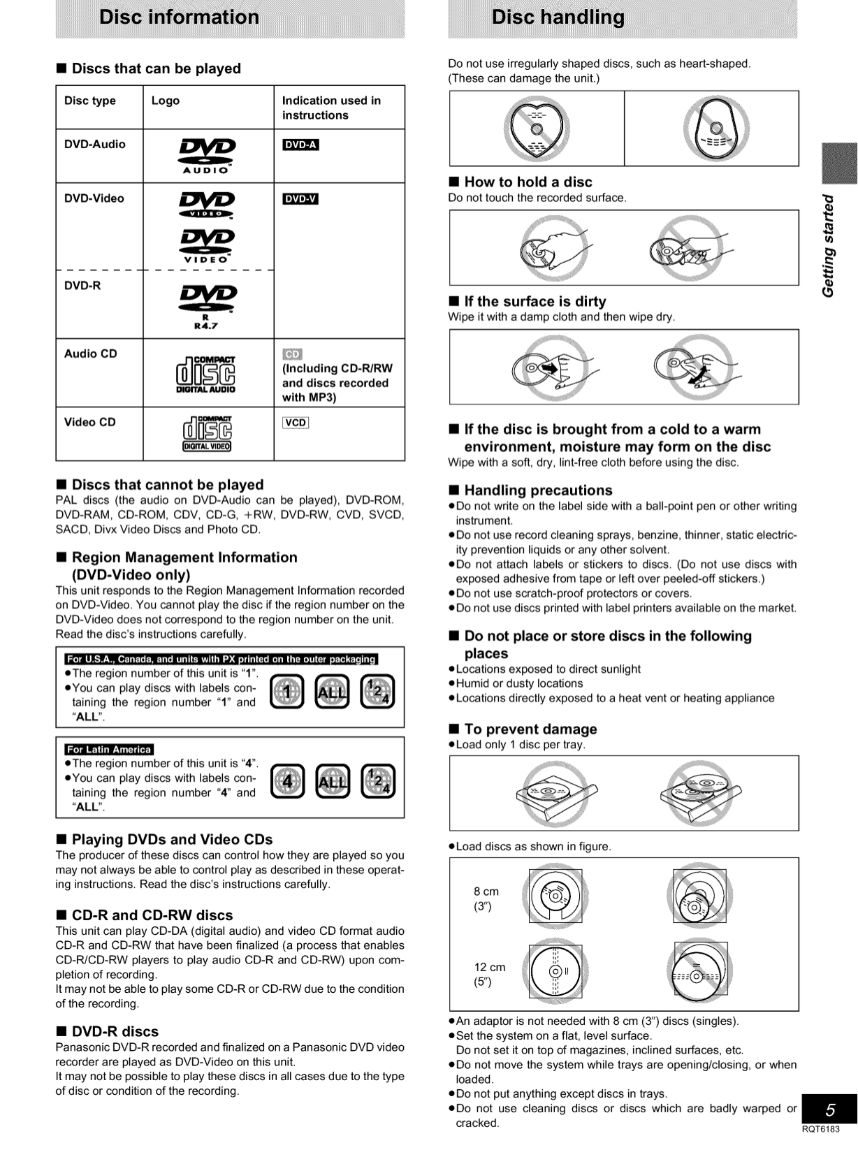 PDF manual for Panasonic Home Theater SA-HT75