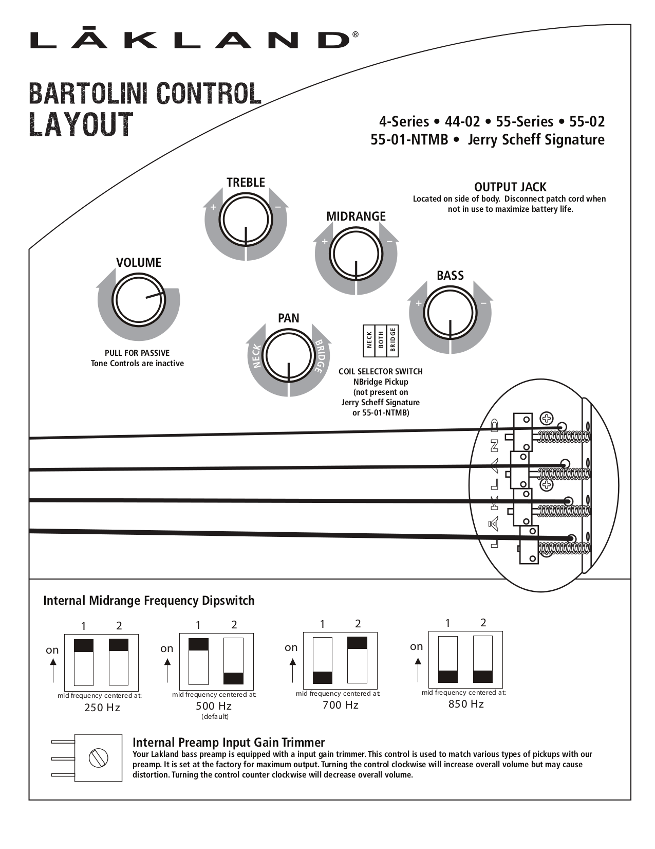 Aguilar Obp 2 Wiring Diagram Aguilar OBP-3 Pre Amp Wiring