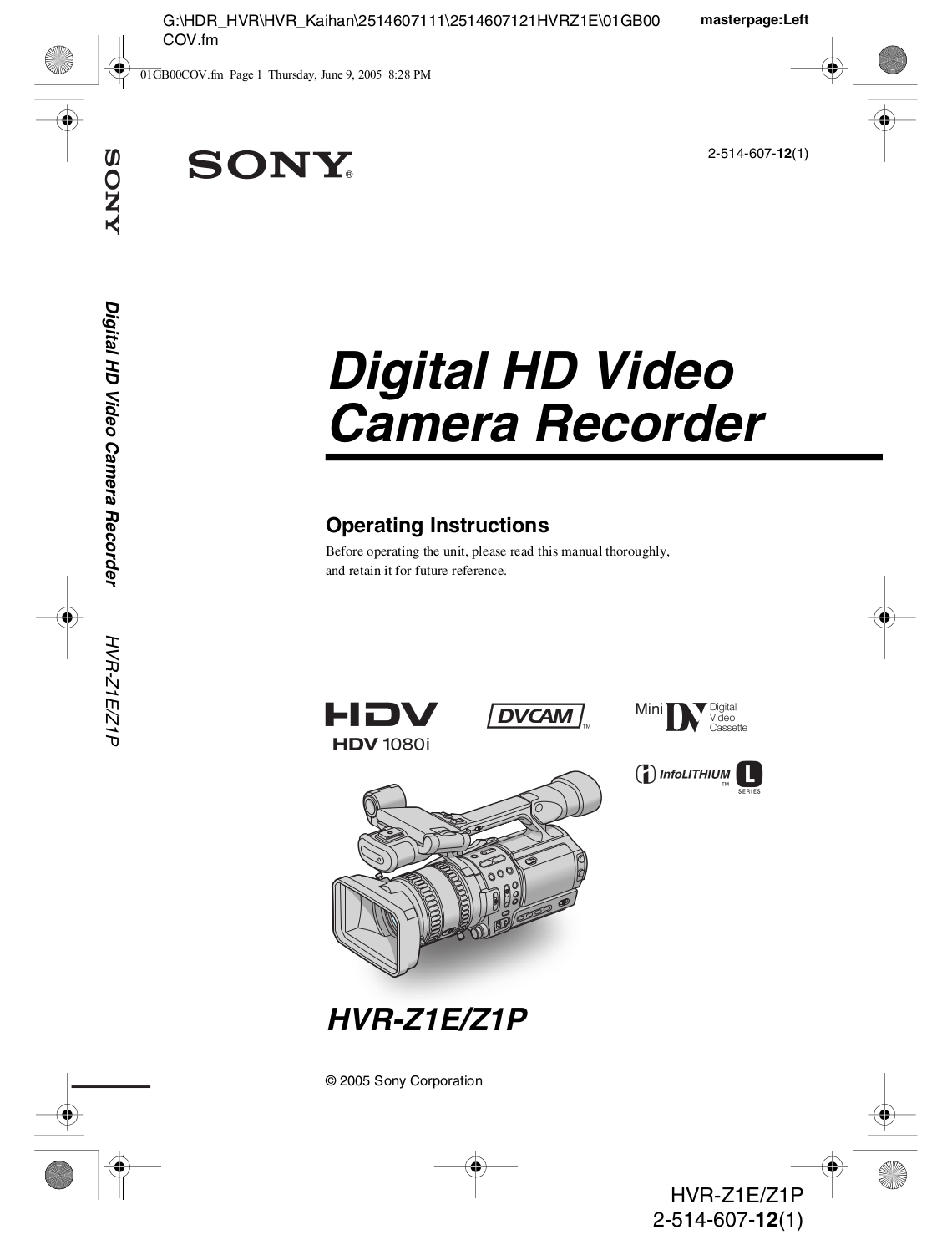 Download free pdf for Sony TA-E1 Receiver manual