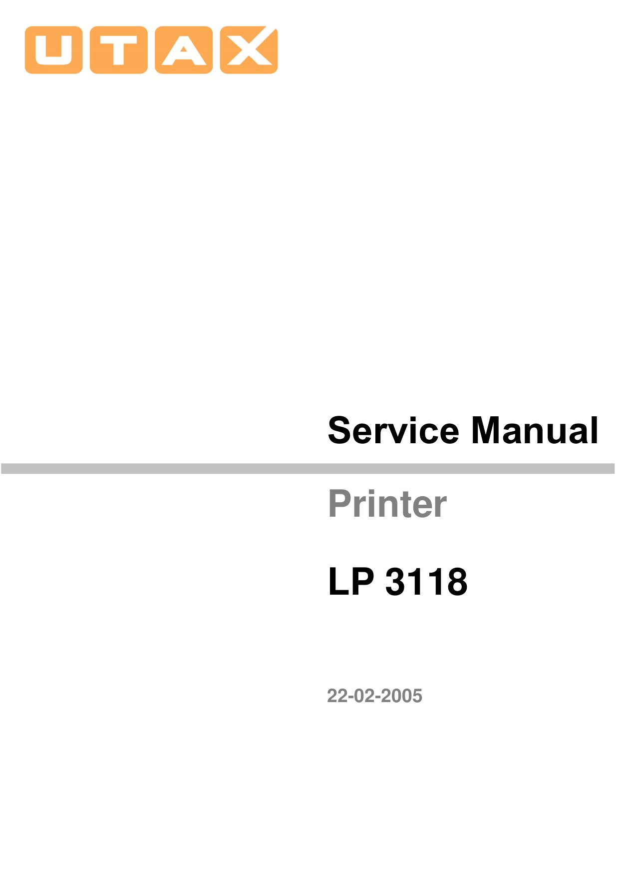 Download free pdf for Kyocera FS-720 Printer manual