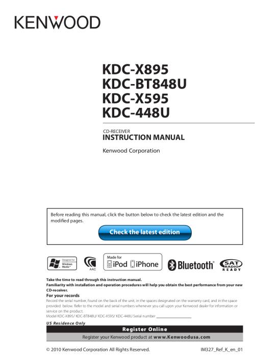 small resolution of kenwood kdc 448u wiring diagram diy enthusiasts wiring diagrams u2022 wiring