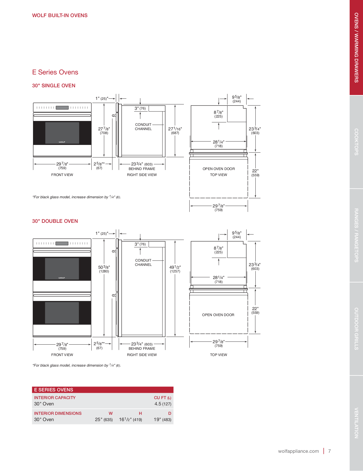 PDF manual for Wolf Other IH4227 Cooktop Hood