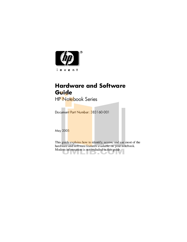Download free pdf for HP Compaq 6710b Laptop manual