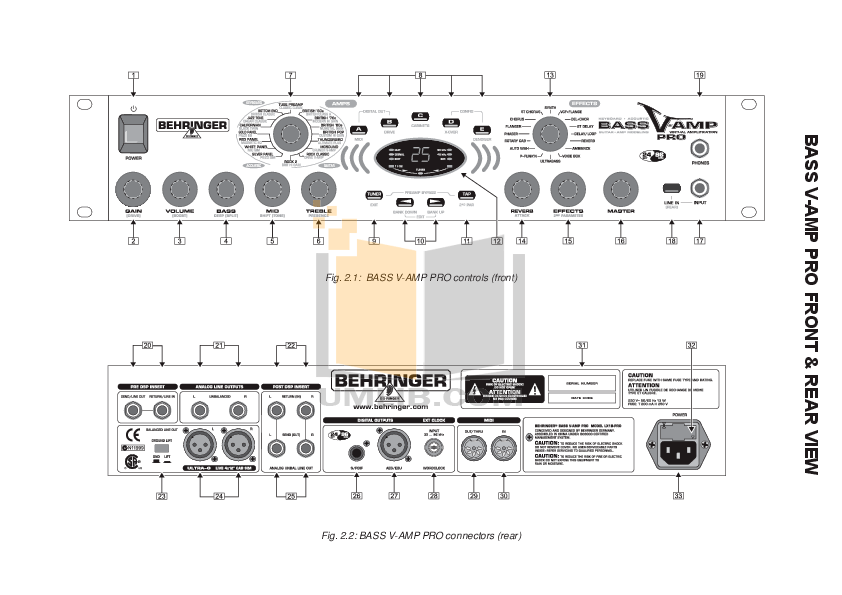 Behringer v amp manual pdf