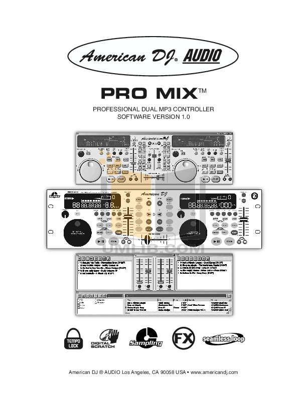 Download free pdf for Art ProMIX Mixers Other manual