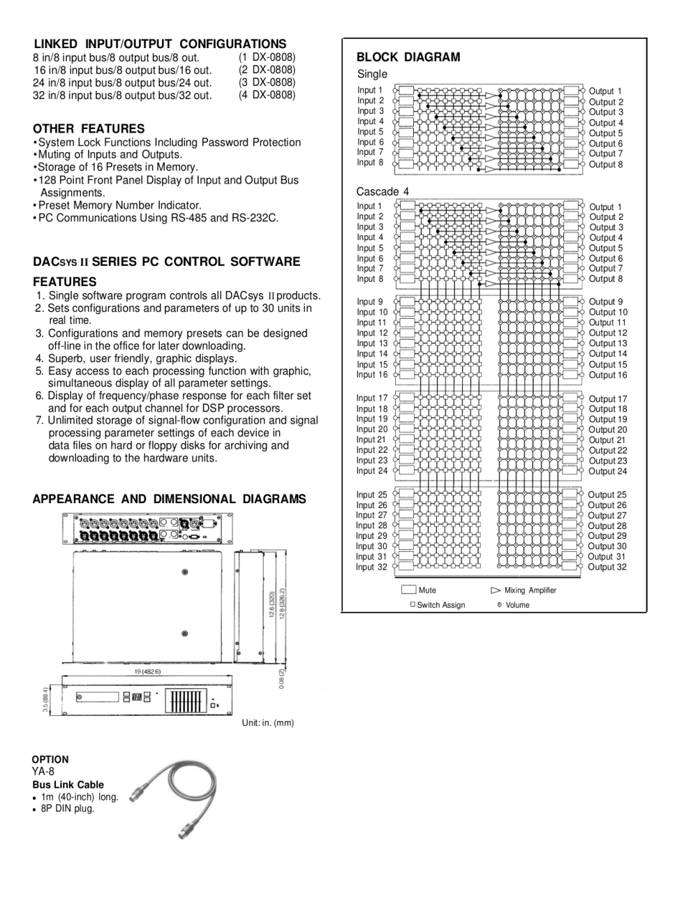 medium resolution of  toa other dx 0808 audio matrix pdf page preview