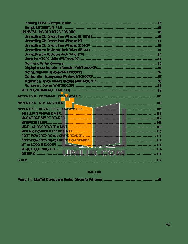 PDF manual for DigiPos Monitor TD1500