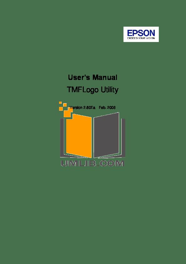 Download free pdf for Epson TM-J2100 Printer manual