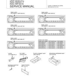 kdc w4031 w409 w431gy w4531 wf431a pdf 0 download free pdf for kenwood kdc 319 car receiver manual kenwood [ 1275 x 1651 Pixel ]