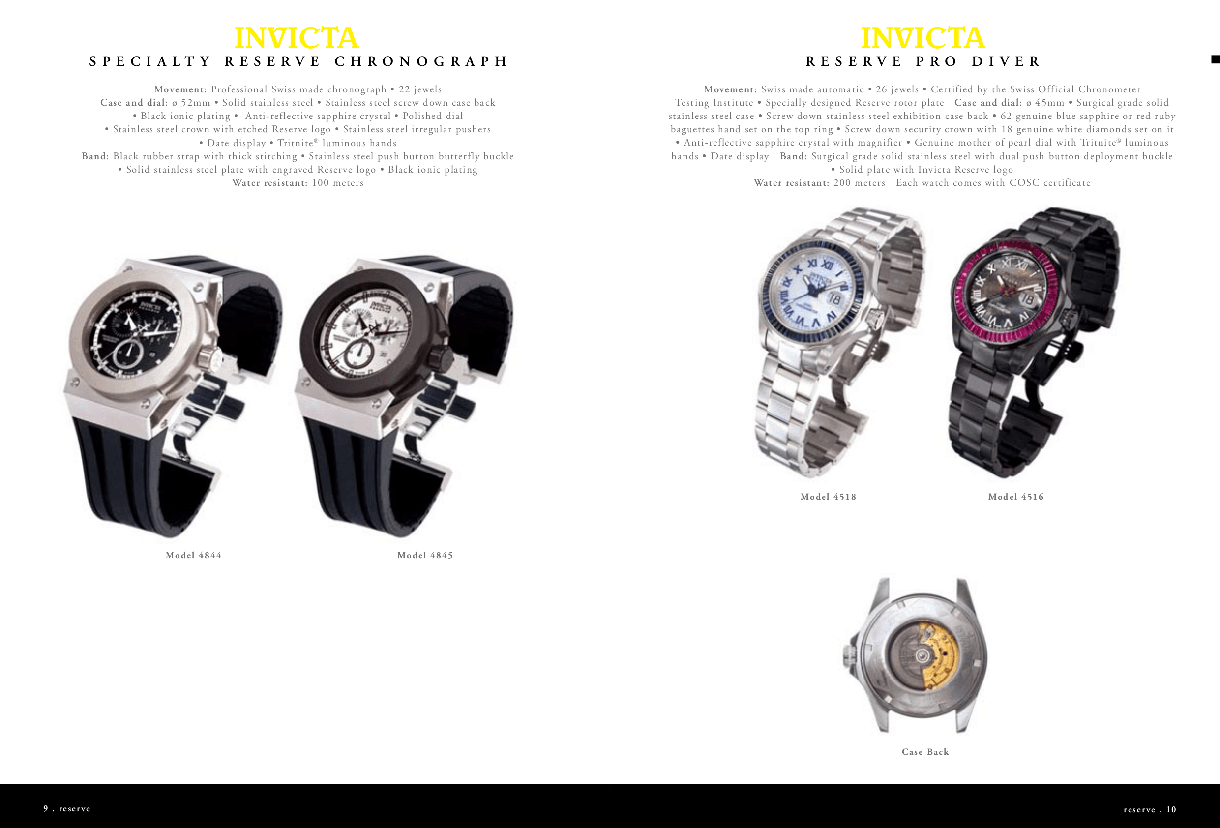 PDF manual for Invicta Watch Russian Diver 4338