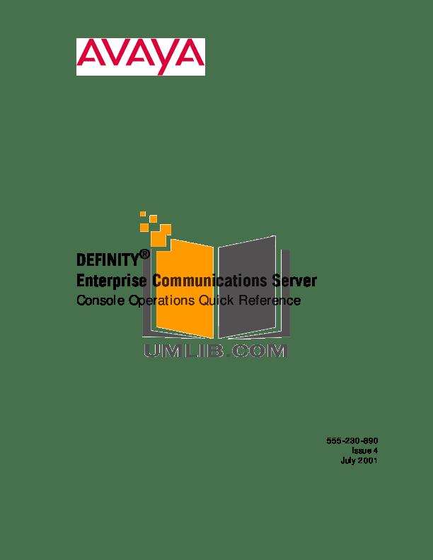 Download free pdf for Avaya Definity 6408 Telephone manual