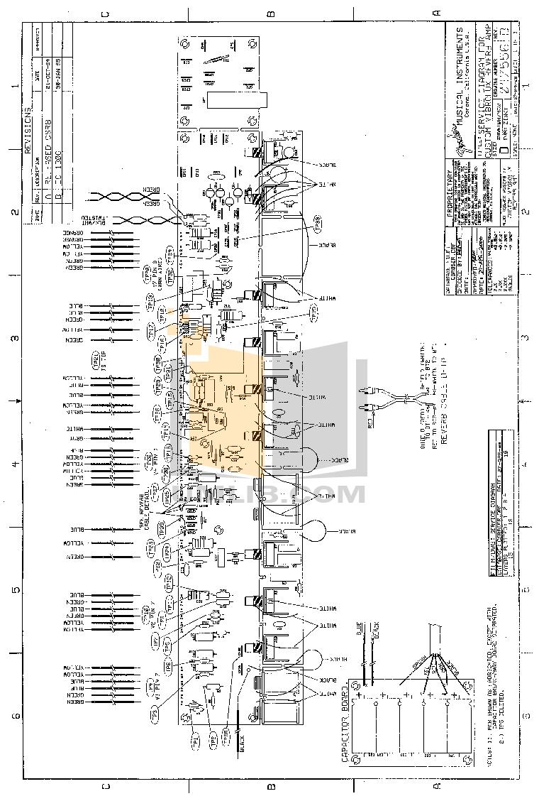PDF manual for Fender Amp Custom Vibrolux Reverb