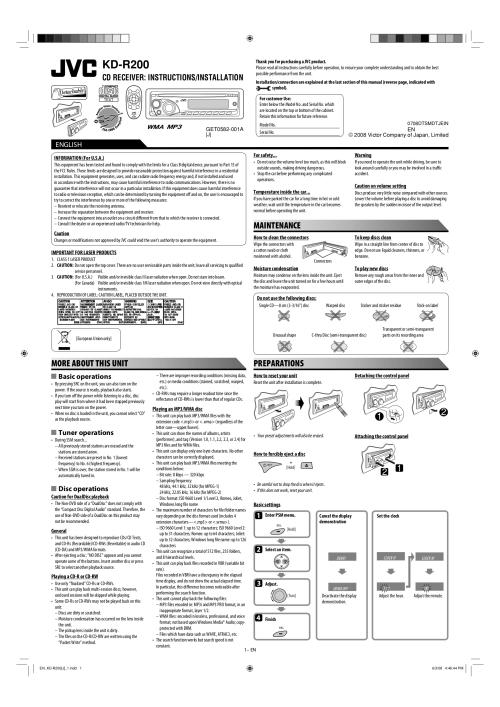 small resolution of jvc kd r300 wiring diagram manual e books
