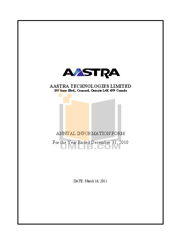 Download free pdf for Aastra Venture IP Telephone manual