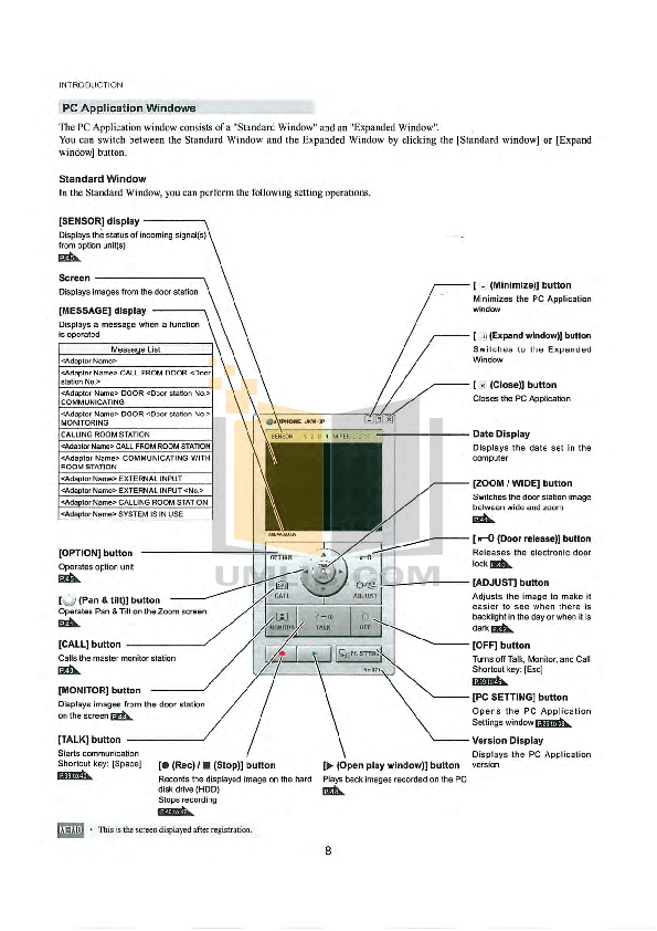 PDF manual for Aiphone Other AP-5M Intercoms