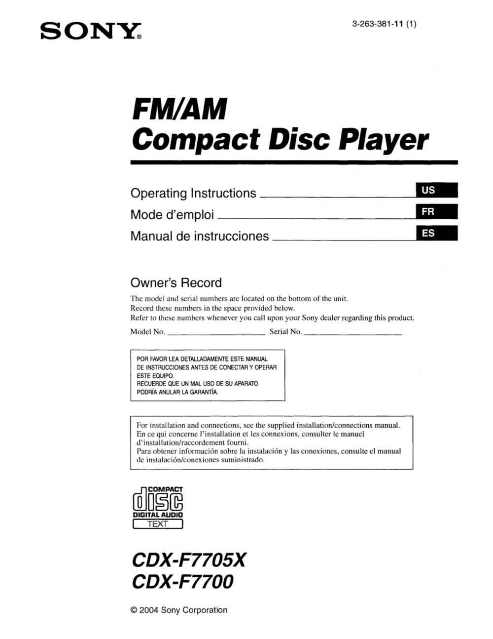 medium resolution of i need a sony cdx gt610ui wiring diagram sony cdx gt07 wiring diagram