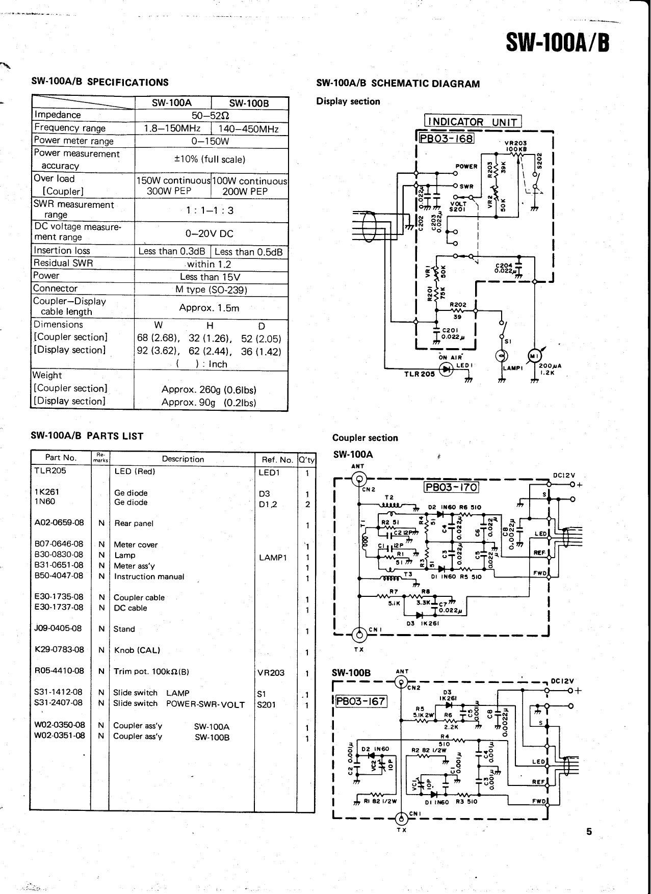 PDF manual for Kenwood Subwoofer SW-200