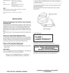 sony car receiver cdx mp40 pdf page preview  [ 1240 x 1755 Pixel ]