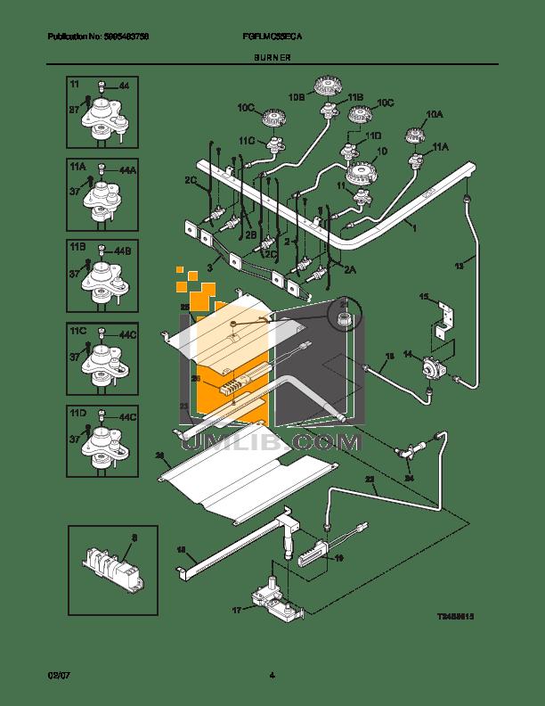 PDF manual for Frigidaire Range FGFLMC55ECA