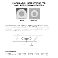 Bogen Paging System Wiring Diagram Ym 50 Valcom Speakers