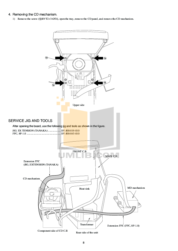 PDF manual for Aiwa Other XR-MD100 Stereo Systems