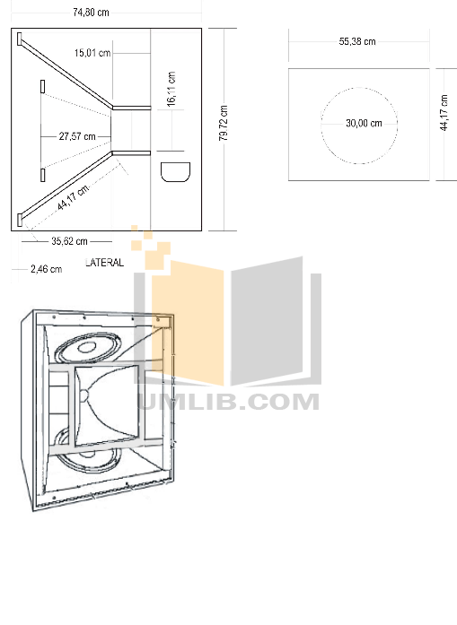 PDF manual for Eaw Speaker KF750