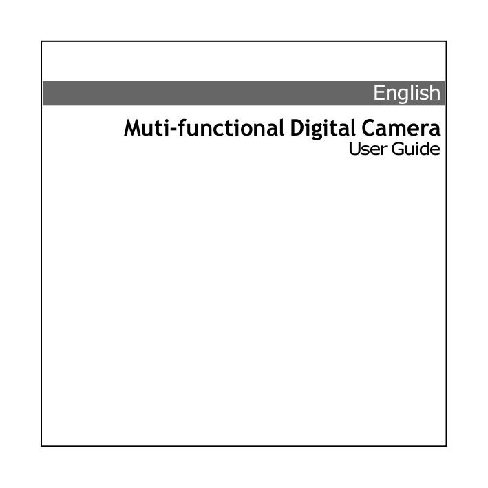 Download free pdf for Mustek G-Smart D35 Digital Camera manual