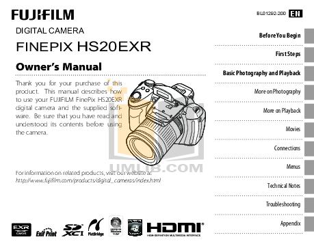 Download free pdf for FujiFilm Finepix A100 Digital Camera