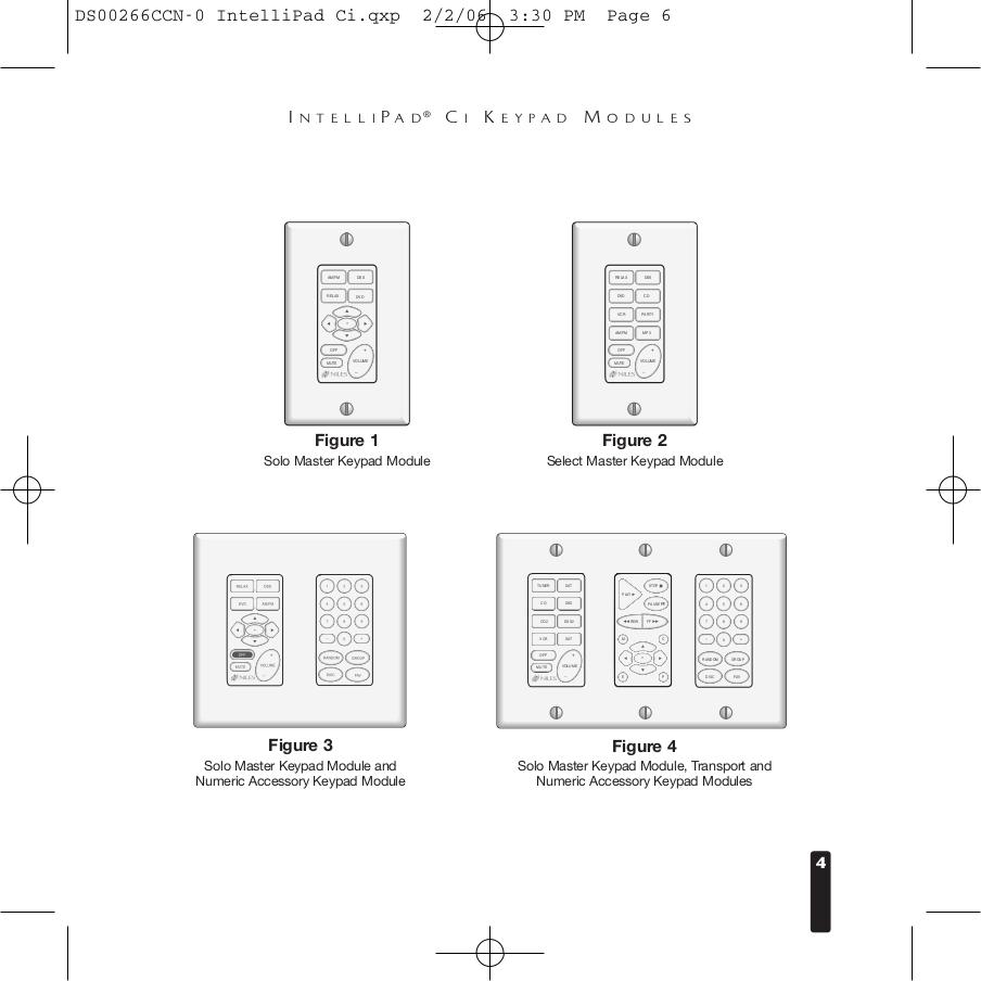 PDF manual for Niles Other Transport Audio-Intellipad CI