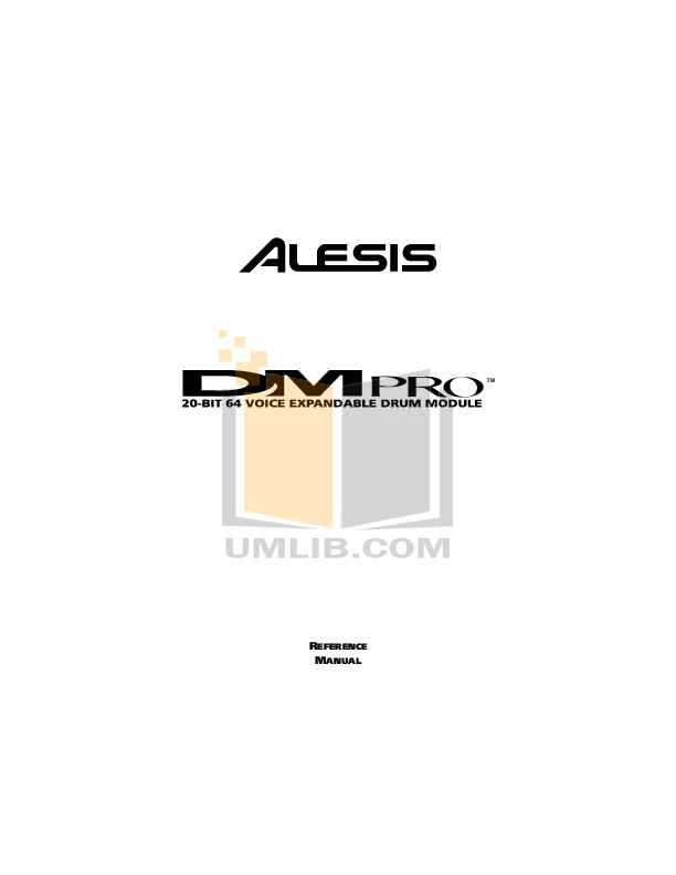 Download free pdf for Alesis QS6.1 Music Keyboard manual