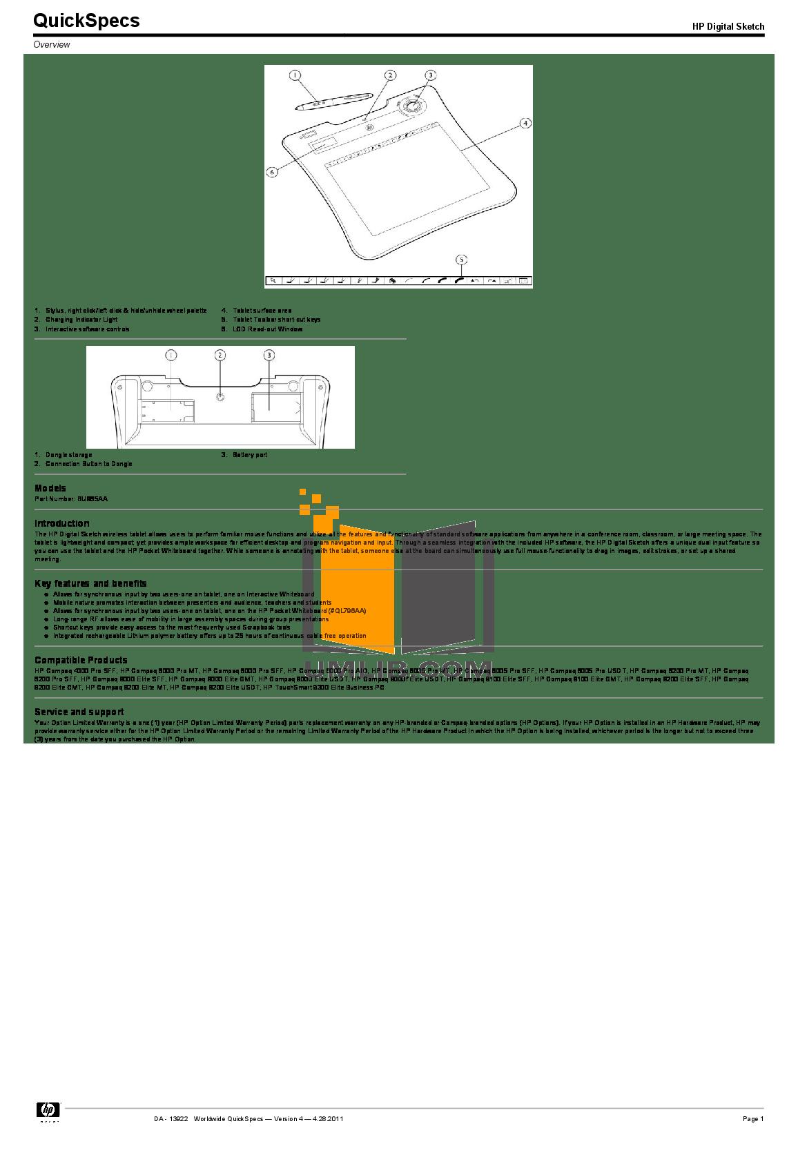 Download free pdf for HP Compaq 6000 Pro SFF Desktop manual