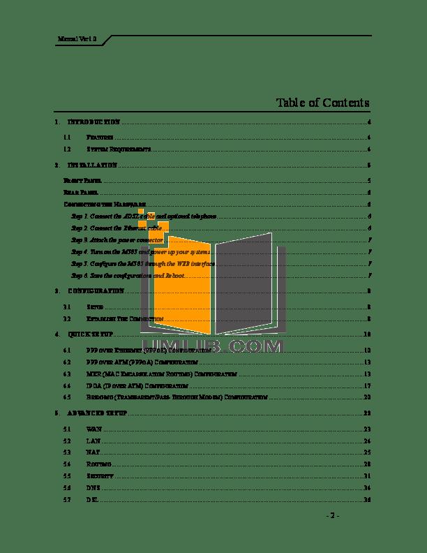 PDF manual for Gateway Laptop M505