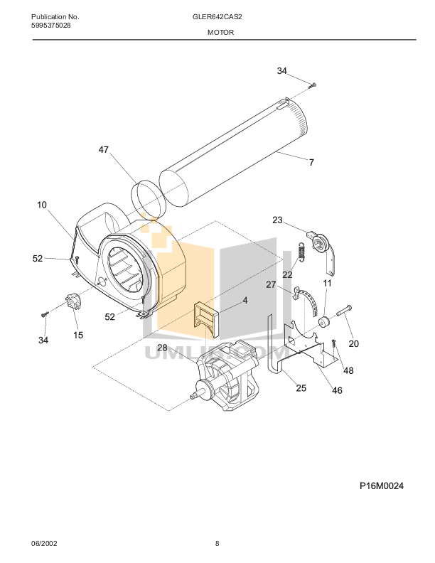 PDF manual for Frigidaire Dryer GLER642CAS3