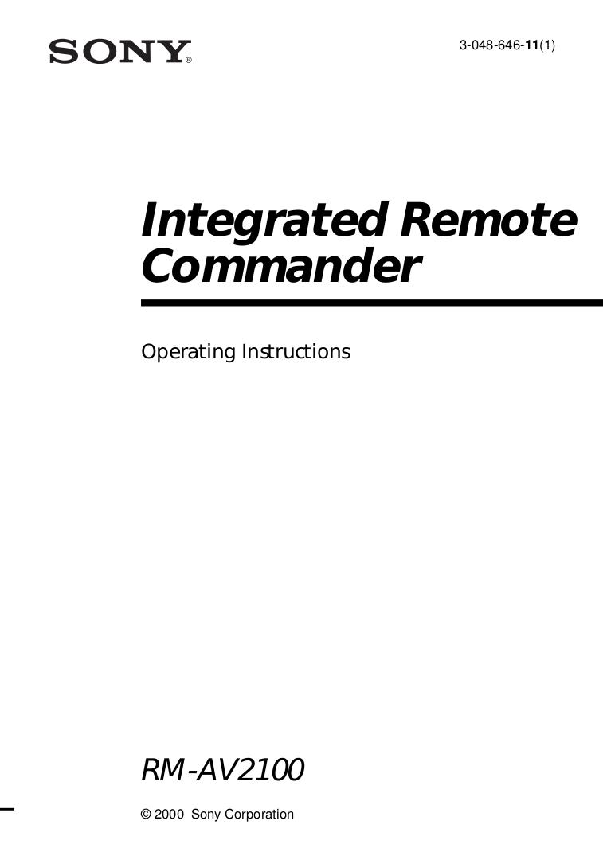 AV2100 MANUAL PDF