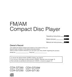 download free pdf for sony xplod cdx gt130 car receiver manual cdx gt130 wiring diagram [ 1275 x 1651 Pixel ]