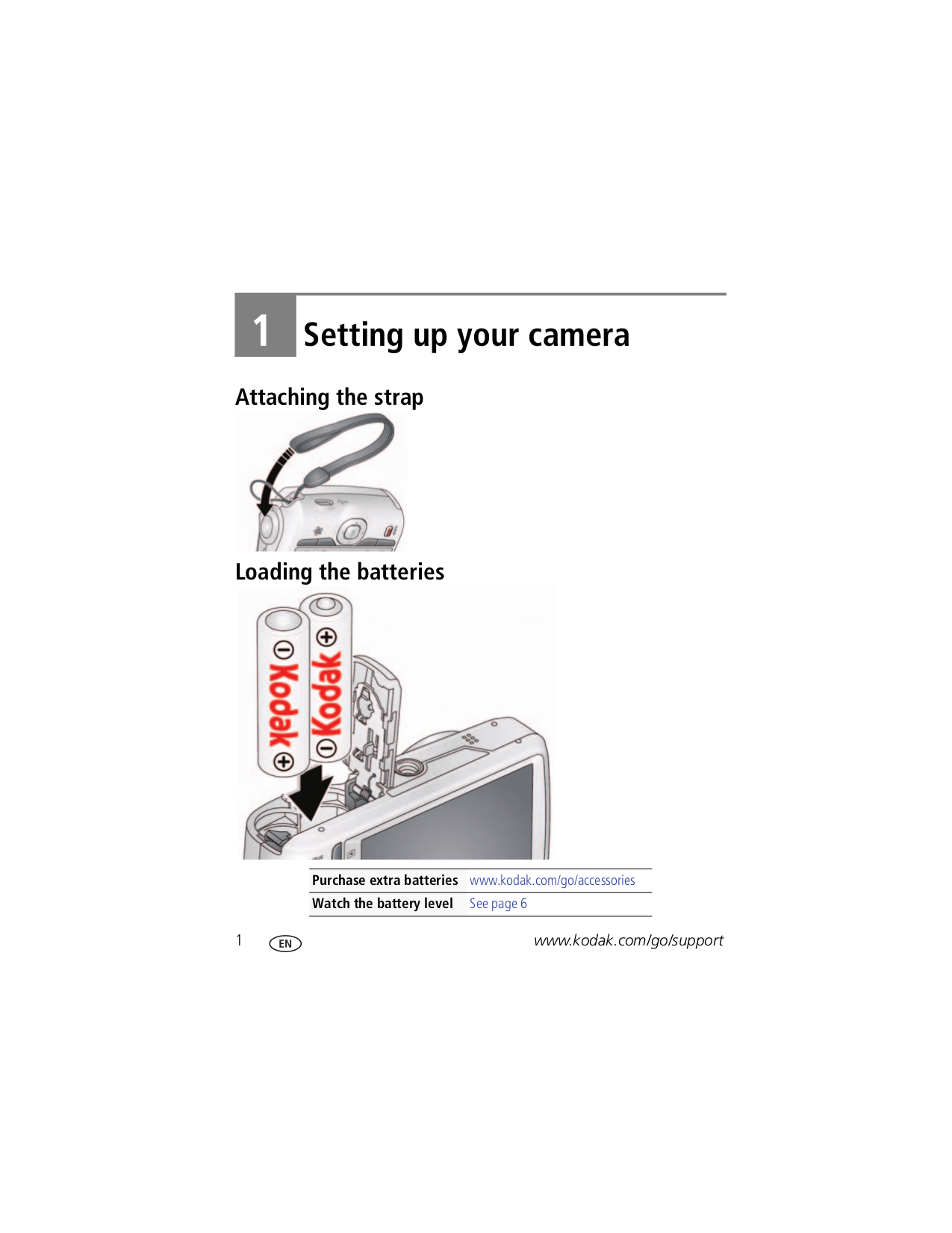 PDF manual for Kodak Digital Camera EasyShare C1530