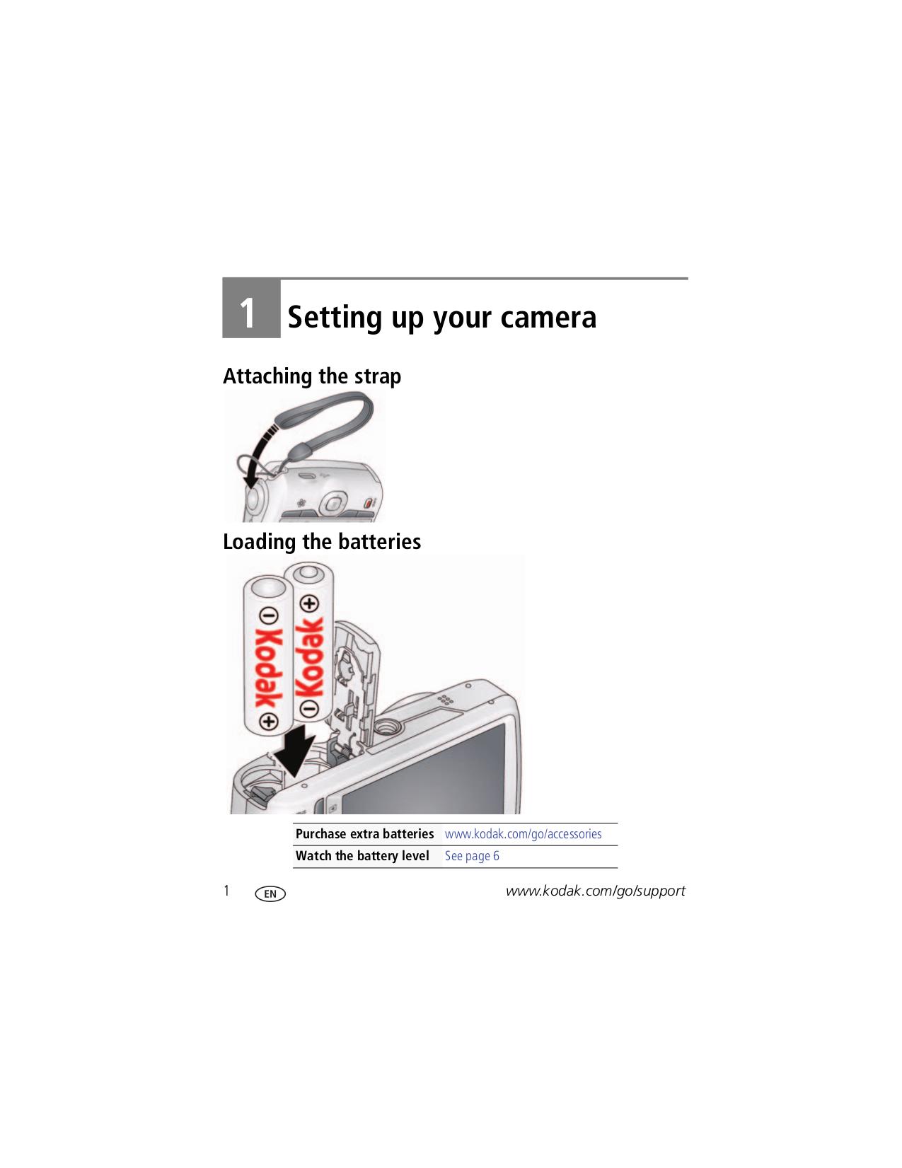 PDF manual for Kodak Digital Camera EasyShare C1530