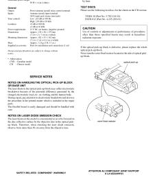 cdx gt21w gt210 gt260 pdf 1 pdf manual for sony car receiver [ 1240 x 1755 Pixel ]