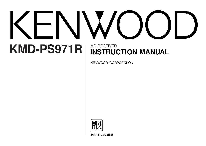Download free pdf for Kenwood KAC-X301T Car Amplifier manual