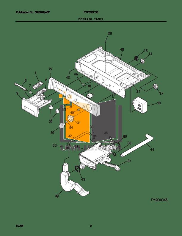 PDF manual for Frigidaire Washer FTF530FS